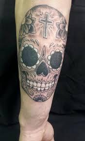 black and grey sugar skull by jadedxink on deviantart