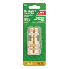 Connecting Garden Hose To Kitchen Faucet Garden Hose Connectors Hose Fittings U0026 Coupling At Ace Hardware