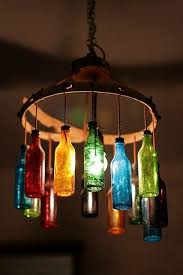 How To Make A Chandelier Out Of Beer Bottles Find Inspirations For Your Next Bottle Lamp Project How To Make