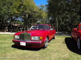 roll royce red rolls royce silver spur iv mulliner park ward at festivals of