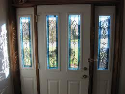 Exterior Glass Door Inserts Leaded Glass Exterior Door Inserts Exterior Doors Ideas