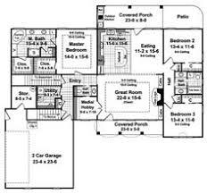 3 Bedroom 2 Bath Open Floor Plans Ranch Style 3 Bedroom 2 Bath With Den 2 283 Sq Ft Houses