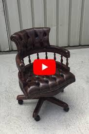 fauteuil de bureau chesterfield fauteuils chesterfield de bureau