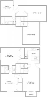 floor plans 3 bedroom 2 bath 3 bedroom floor plans rent college park apartments