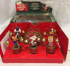 vintage mr santas marching band original box mr