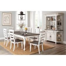 two tone dining table set two tone french country 5 piece dining set bourbon county rc