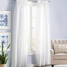 Sheer Curtains Orange Orange Sheer Curtains Drapes You Ll Wayfair