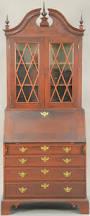 Chippendale Secretary Desk by Auction Catalog U2013 Nadeau U0027s Auction Gallery