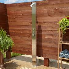 Outdoor Pool Shower Ideas - 76 best outdoor showers images on pinterest outdoor showers