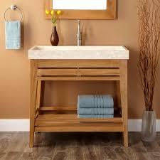 Wooden Bathroom Furniture Sink Vanity Base Trough Ideas Nfinished Bathroom