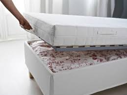 ikea bed with storage and mattress storage decorations