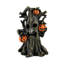 led spooky tree 4 inch mi 50402 miniature garden dollhouse