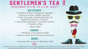 gentleman s gentleman s afternoon tea the morrison
