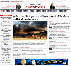 latest newspaper template free download themes pinterest