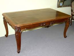 vintage french dining table louis xv style extension dining table