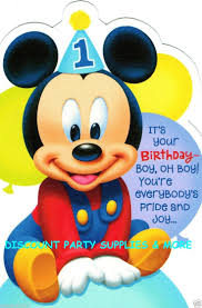 mickey mouse 1st birthday boy 40 best alternate tcs bday images on mickey party