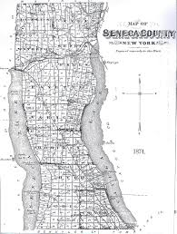 New York County Map Maps Of Seneca County And The Various Towns Seneca County New York