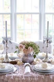 a soft vintage thanksgiving table entertaining tour