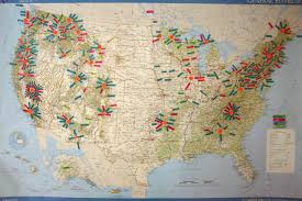 Us National Parks Map Smoke And Mirrors Now 34 Strange National Park Clusters Of