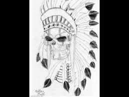 navajo indian tattoos native indian skull tattoo by weemattyb