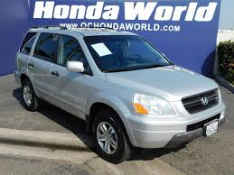 2005 honda pilot issues used 2005 honda pilot ex l westminster ca honda orange
