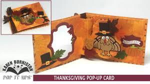 pop it ups thanksgiving card