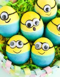 Easter Egg Decorating Ideas Bee by Minion Easter Eggs Minion Easter Eggs Easter Egg Designs And Easter