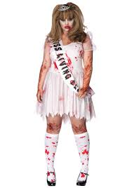 Party Costumes Halloween Size Zombie Prom Queen Costume Hallllooooweeeeen