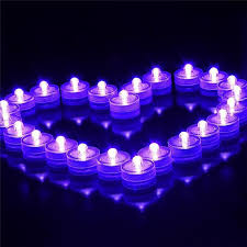 2017 underwater lights led candle lights submersible tea light