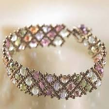 beaded bracelet patterns images Create your own diy miyuki glass bead bracelet kit woven net jpg