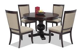 5 Chair Dining Set Gatsby 5 Dining Set With Side Chairs Bob S Discount