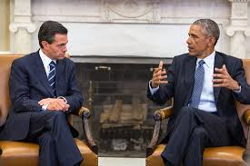 Presidents Of The United States President Obama And President Peña Nieto Of Mexico Meet At The