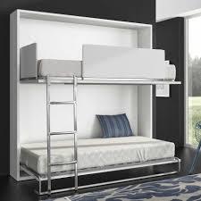 lit superposé chambre armoire lit superposé escamotable horizontale rabatable