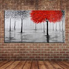 online get cheap oil life aliexpress com alibaba group modern abstract hand painted tree of life oil painting canvas art large fabric wall mural