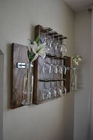 amazing wine glass rack for wall 25 best ideas about wine glass