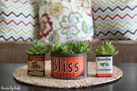 vintage container succulent planters house by hoff