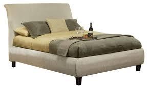 coaster phoenix king platform bed in beige 300369ke phoenix coaster phoenix king platform bed in beige 300369ke