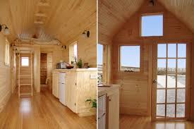 interiors of tiny homes interior of a tiny house on wheels i would white wash it like a