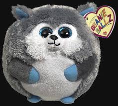 yukon husky ty beanie ballz owned toys ty