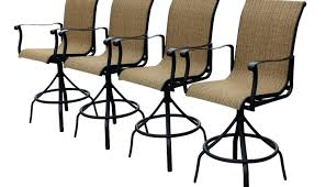 Swivel Outdoor Patio Chairs Bar Amazing Outdoor Swivel Bar Stools Outdoor Patio Furniture
