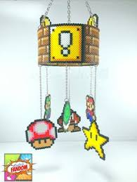 Super Mario Home Decor Super Mario Mobile Super Mario Valentines Day Gift Super Mario