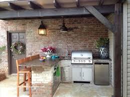 cuisine d été aménagement cuisine ete génial 15 idées d aménagement de cuisine d été