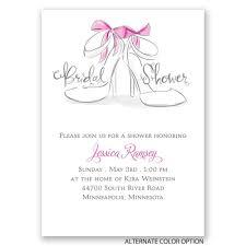 wedding shoes mini bridal shower invitation invitations by dawn