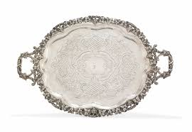 Silver Tray For Ottoman An Ottoman Silver Tray Turkey Period Of Abdülhamid Ii 1879