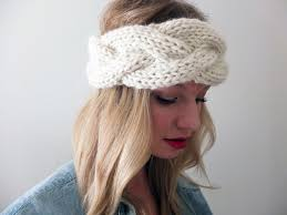 knitted headbands knit braided headband pattern crochet and knit