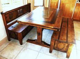 Dining Room Sets With Benches Dining Room Table Benches Provisionsdining Com