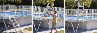 pool safety ladders kayak pools midwest