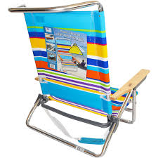 Low Back Beach Chair Rio 5 Position Layflat Beach Chair Sand Bar Stripe Low Seat