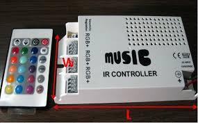 music led strip lights 60w music ir controller 12v 5a 60w for rgb led strip or rgb led