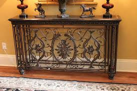 Metal Entry Table Amazing Metal Entry Table With Granite Iron Decorative Entry Table